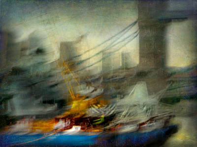 Poster featuring the photograph Cityscape #28 by Alfredo Gonzalez