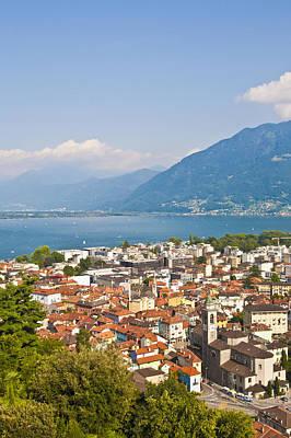Cityscape Of Locarno, Lake Maggiore, Switzeland Poster