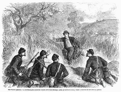 Civil War: Deserter. 1861 Poster