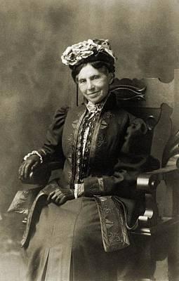 Clara Barton 1821-1912, In Retirement Poster by Everett