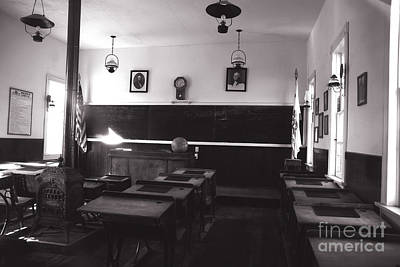 Class Room Inside View Calico California Poster by Susanne Van Hulst
