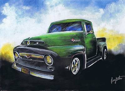Classic 56 Ford Truck Poster