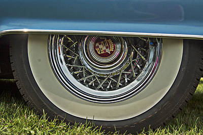 Classic Cadillac Wheel Poster