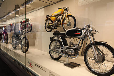 Classic Italian Motorcycles . 1969 Ital Jet 50cc Mustang Veloce . 5d16969 Poster