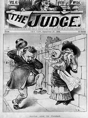 Cleveland Cartoon, 1884 Poster by Granger