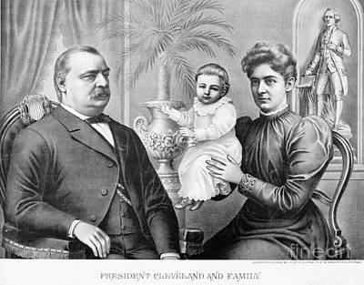 Cleveland Family, C1893 Poster by Granger