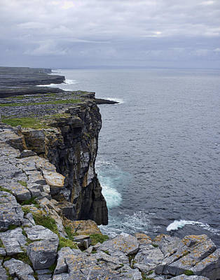 Poster featuring the photograph Cliffs Of Inishmore by Hugh Smith