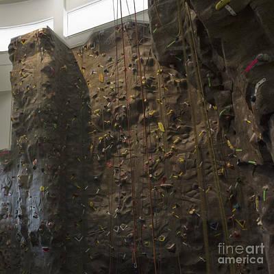 Climbing Wall And Ropes Poster