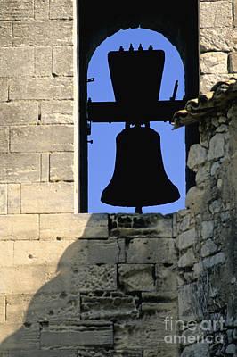 Clocher De Lourmarin Village Du Luberon Poster by Bernard Jaubert
