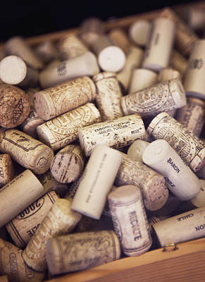 Close-up Of Corks Poster by Johner Images
