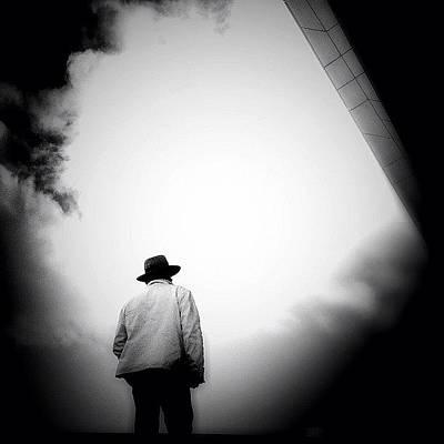 Cloud Cowboy - Concrete Jungle Poster by Robbert Ter Weijden