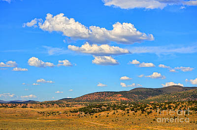 Cloudy Wyoming Sky Poster