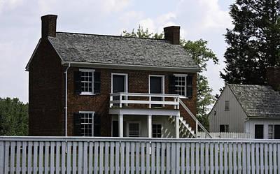Clover Hill Tavern Kitchen Appomattox Virginia Poster by Teresa Mucha