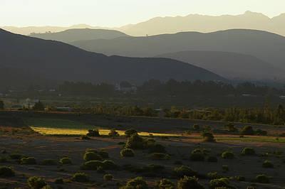 Cochabamba Valley. Republic Of Bolivia. Poster