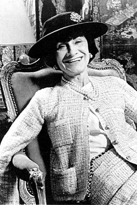 Coco Chanel, 1954 Poster by Everett