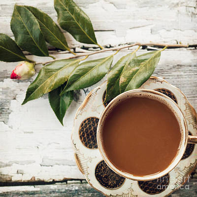 Coffee And Camellia Poster