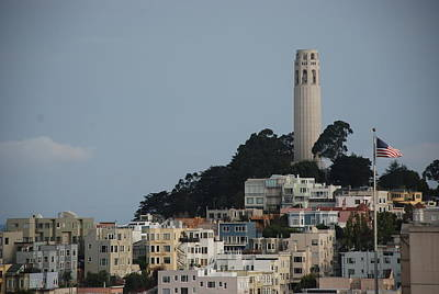 Poster featuring the photograph Coit Tower by Eric Tressler