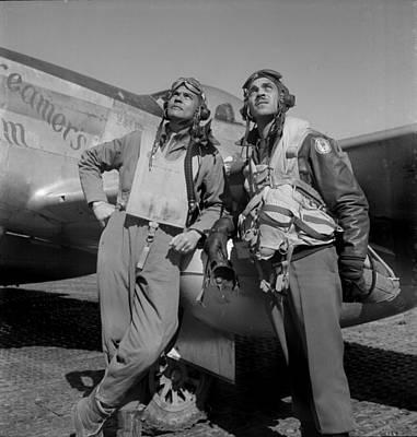 Colonel Benjamin O. Davis, And Edward Poster