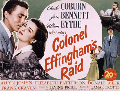 Colonel Effinghams Raid, Aka Man Of The Poster by Everett