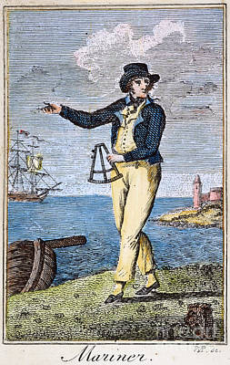 Colonial Mariner, 18th C Poster