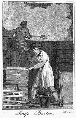Colonial Soapmaker Poster