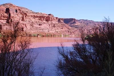Colorado River After Rain - Utah Poster