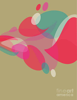 Colorful Abstraction Poster by HD Connelly
