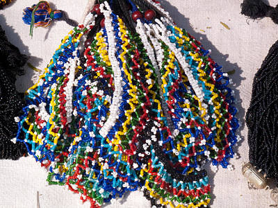 Colorful Beads Jewelery Poster