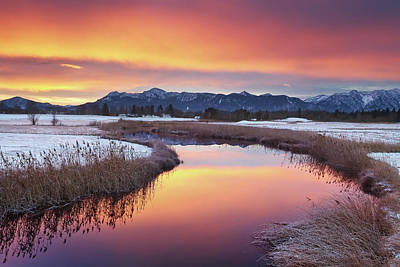 Colorful Sunrise Poster by by Michael Breitung Photography -> www.mibreit-photo.com