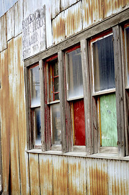 Poster featuring the photograph Colorful Windows by Fran Riley