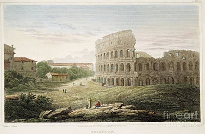 Colosseum: Rome, 1821 Poster