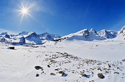 Columbia Icefield In Winter, Jasper Poster by Darwin Wiggett