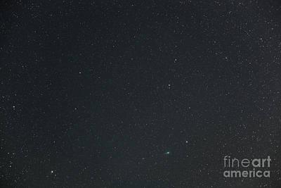 Comet Lulin Poster