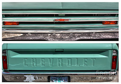 Coming Or Going--still A Chevy Poster by David Bearden