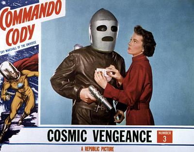 Commando Cody, Judd Holdren, Aline Poster