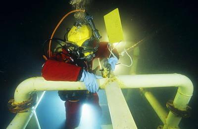 Commercial Diver Poster