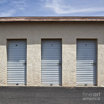 Commercial Storage Facility Poster by Paul Edmondson