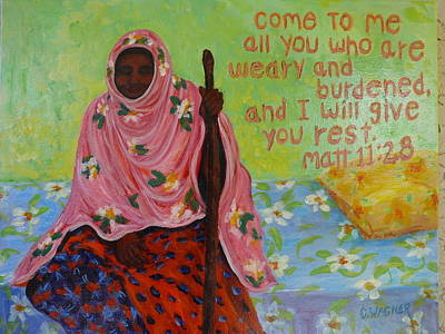 Compassion Poster by Carol Ann Wagner