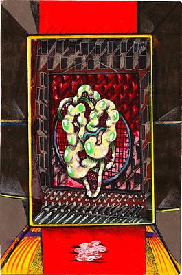 Composition Nine Poster by Al Goldfarb