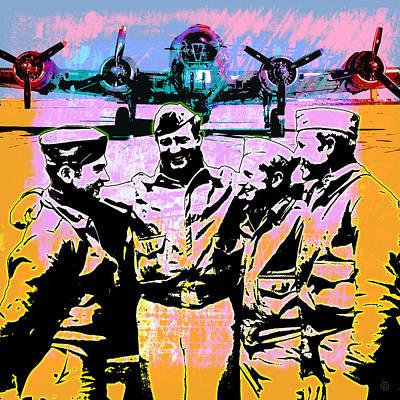 Comradeship Poster by Gary Grayson