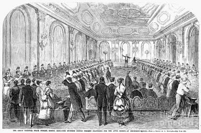 Concert Rehearsal, 1869 Poster
