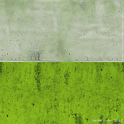 Concrete Landscape 1 Poster by Steve K