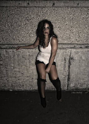 Concrete Velvet 26 Poster by Donna Blackhall