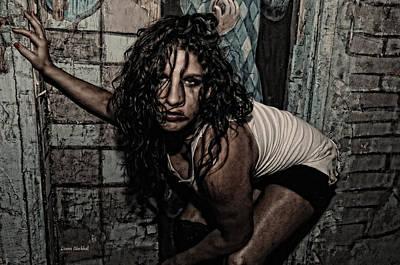 Concrete Velvet 34 Poster by Donna Blackhall