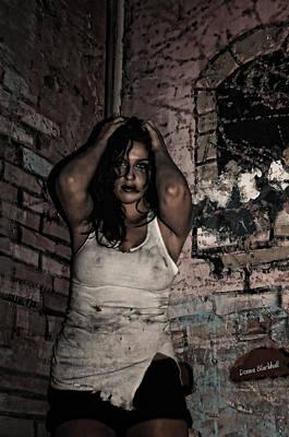 Concrete Velvet 37 Poster by Donna Blackhall
