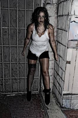Concrete Velvet 39 Poster by Donna Blackhall