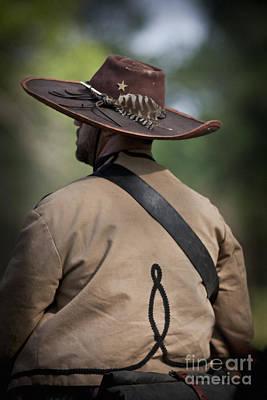 Confederate Cavalry Soldier Poster