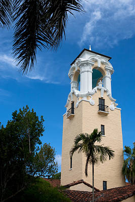 Poster featuring the photograph Congregational Church Of Coral Gables by Ed Gleichman