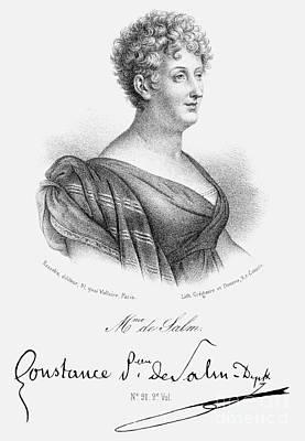 Constance De Salm Poster by Granger