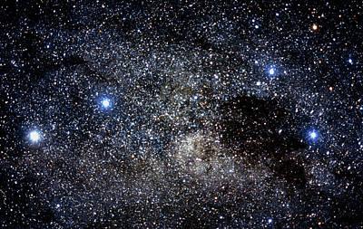 Constellations Of Crux & Centaurus Poster